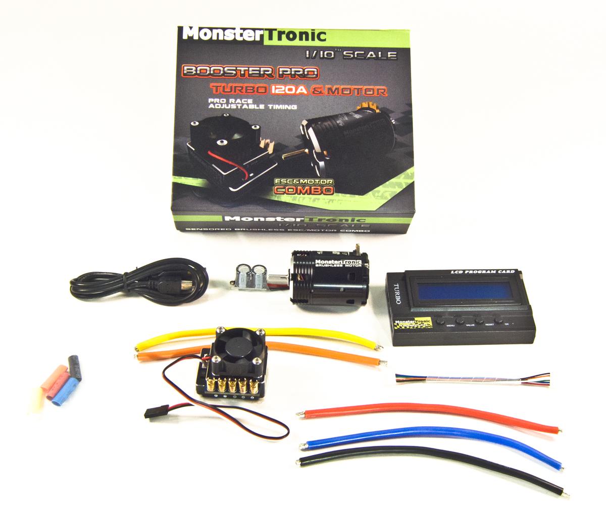 Monstertronic Brushless Combo Sensor Regler Motor 13.5 - RC Shop Kessler
